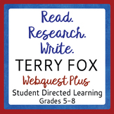 TERRY FOX Read Research and Write Six Topics for Student Research