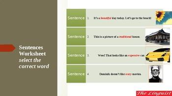 TESOL - Adjectives II