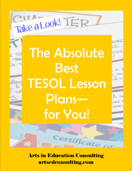 TESOL/ESL/EFL Present Progressive (Present Continuous) Tense Lesson Plan