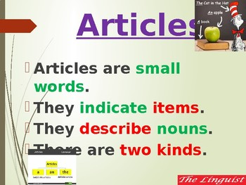 TESOL - The Articles