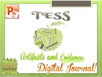 TESS  Artifacts and Evidence Digital Journal
