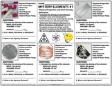 Worksheet: Mystery Elements and Their Density Version 1