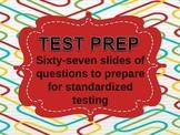 TEST PRACTICE - Sentences