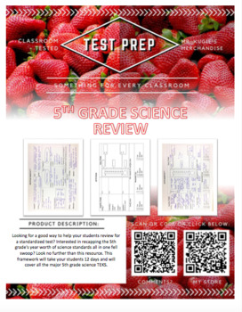TEST PREP - 5th Grade Science Review (Science)