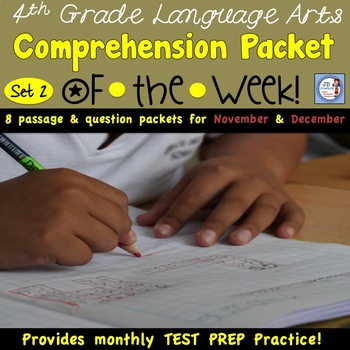 TEST PREP ALL YEAR!  Language Arts Packet 2 (aligned to 3-5 AIR tests)
