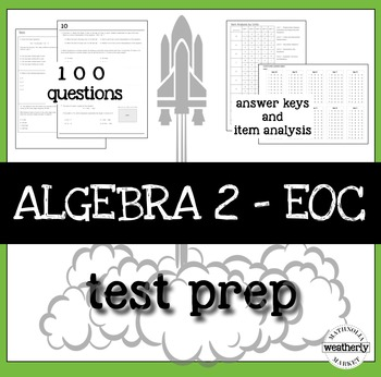 Algebra 2 Review End of Year TEST PREP