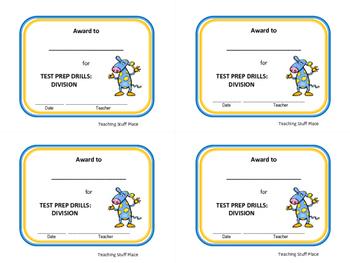 DIVISION | 28 DRILLS | TEST PREP | Grade 3 Core Math | FUN Practice