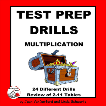 MULTIPLICATION TABLES | Test Prep Drills | NO PREP | Practice |Gr 3 Math CORE