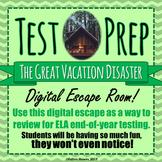TEST PREP - ESCAPE ROOM - THE SPRING BREAK DISASTER! - High Interest!