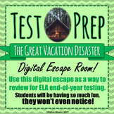 TEST PREP - ESCAPE ROOM - THE Great Vacation DISASTER! - H