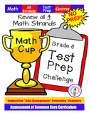 Gr.6 TEST PREP  Math Cup Challenge! Review all strands! NO