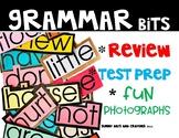 GRAMMAR REVIEW  NO PREP