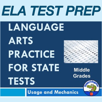 TEST PREP : Language Arts Practice for State Standardized Tests