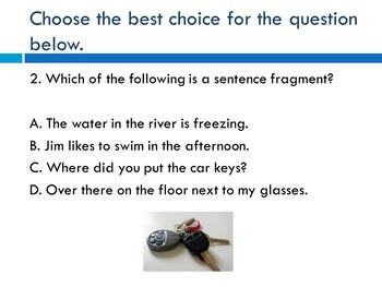 TEST PREP PowerPoint: Language Arts Practice for ELA State Standardized Tests