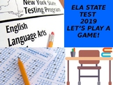 TEST PREP POWERPOINT- 2019 ELA STATE TEST GAME OF QUESTIONS