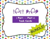 TEST PREP [Part 1 + Part 2] BUNDLE! ELA and Reading; Task Cards and Kaboom