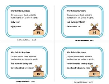 Math Moose | Back to School | Gr  4  | 148 math exercises | Gr 3 MATH CORE
