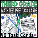 3rd Grade Math Test Prep Games and Task Cards