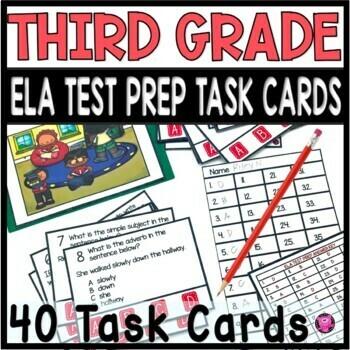 3rd Grade Language Arts Standards Based Assessment