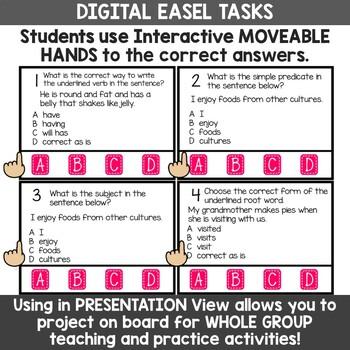 3rd Grade ELA Test Prep Task Card Activities