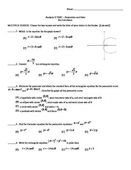 TEST - Parametrics and Polar