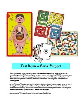 TEST REVIEW GAME PROJECT