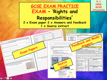 TEST RIGHTS AND RESPONSIBILITIES GCSE CITIZENSHIP 9-1