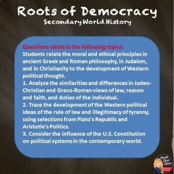 Roots of Democracy TEST (World History)