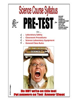 COURSE SYLLABUS PRE-TEST - 100-QUESTIONS Goes with Science