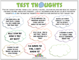 TEST THOUGHTS (Study Skills)