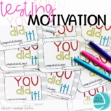 TESTING MOTIVATION: Banners, Posters, Activities, Awards a