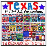 TEXAS 1ST & 2ND GRADE SOCIAL STUDIES BUNDLE (16 Resources