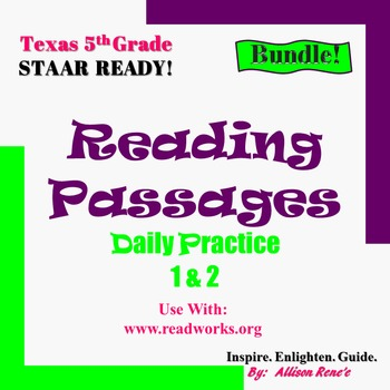 Reading Staar Questions Worksheets Teaching Resources TpT