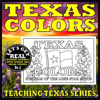 TEXAS COLORS Activity Book