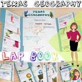 TEXAS GEOGRAPHY LAP BOOK for Texas History 7th Grade