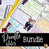DOODLE NOTES BUNDLE for Texas History 7th Grade