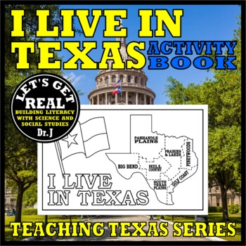I LIVE IN TEXAS Activity Book