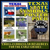 Texas State Symbols Poster Pack