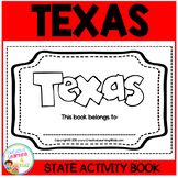 TEXAS State Activity Book