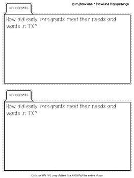 TEXAS TAB BOOKS {TEKS ALIGNED}