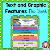 TEXT AND GRAPHIC FEATURES FLIP CHART (K-2)