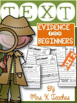TEXT EVIDENCE FOR BEGINNERS(INFERENTIAL)