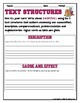 TEXT STRUCTURES: review then write about BASKETBALL-sports edition