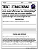 TEXT STRUCTURES review and write about GHOSTS-Halloween Edition