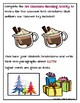 Text Structures Writing Activity: Gifts