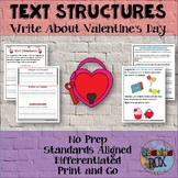 Text Structures Writing Activity: Valentine's Day