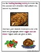 TEXT STRUCTURES: review then write about VEGGIES-Thanksgiving Edition
