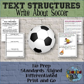 TEXT STRUCTURES: review then write about SOCCER-sports edition