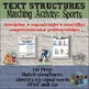 TEXT STRUCTURES: review then write about Sports- BUNDLE