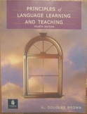 TEXTBOOK Principles of language learning and teaching  Brown ESL ELL ShippingINC